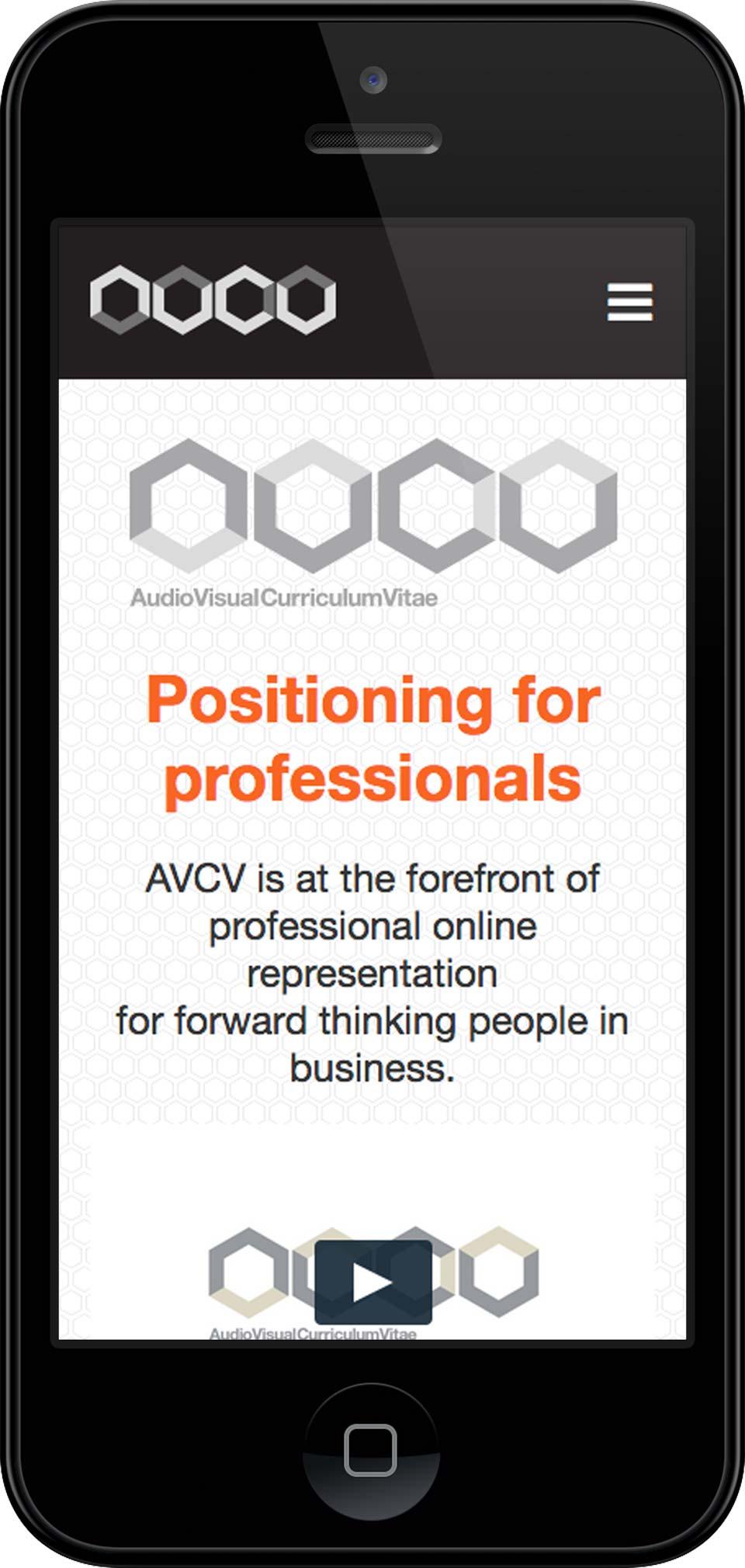 Screenshot web development AVCV Bristol