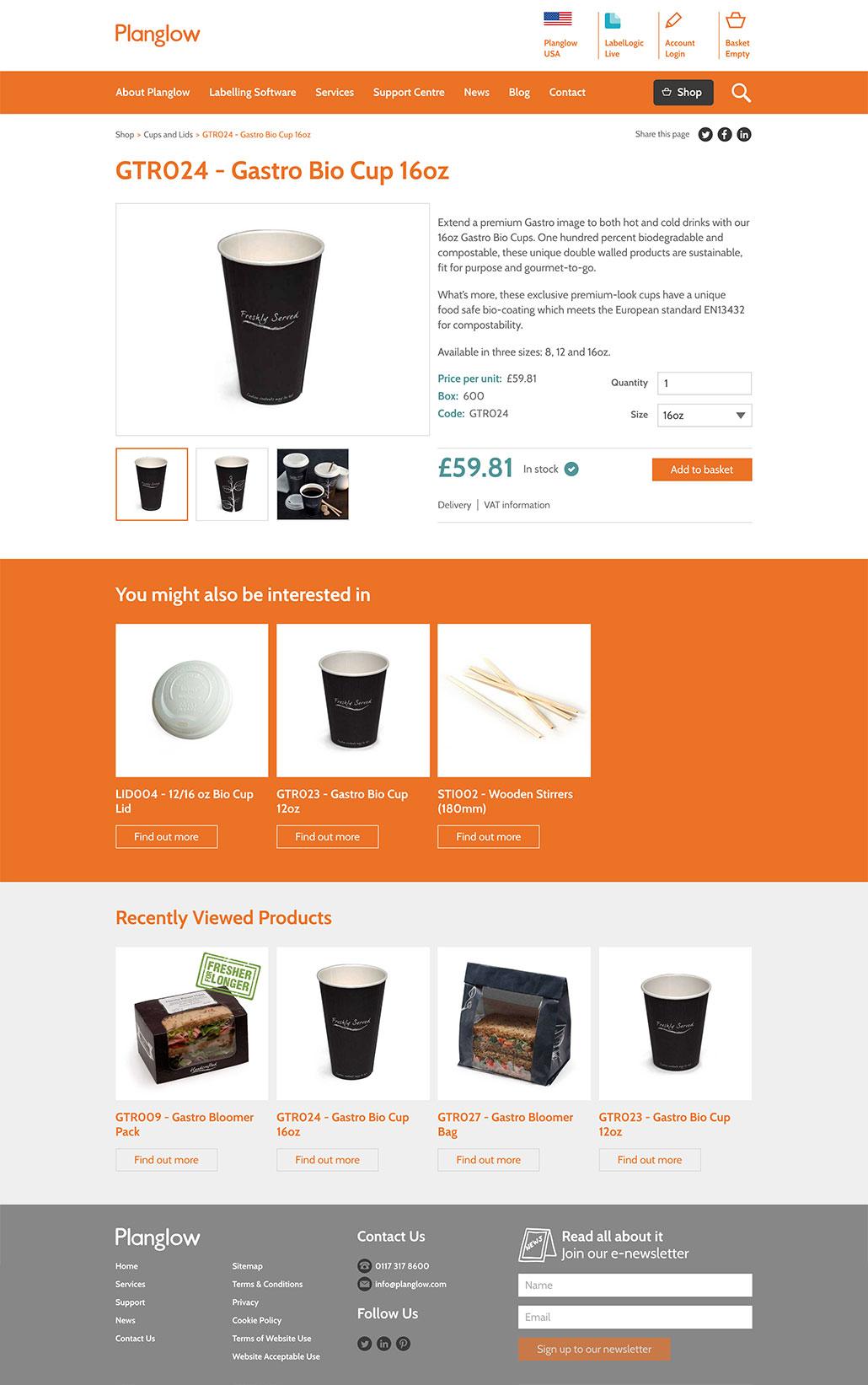 Custom e-commerce development Bristol screenshot 1