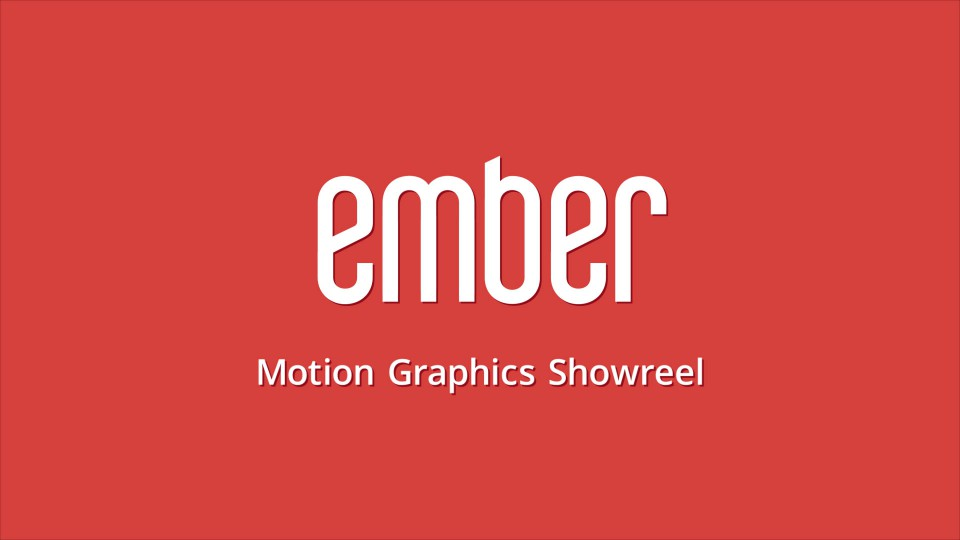 Ember Motion Graphics Showreel