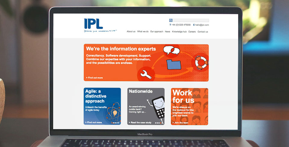 IPL Bath web development Bristol thumbnail