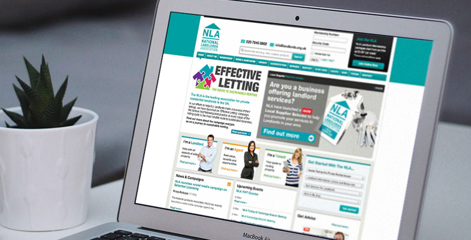 Association membership subscription web development NLA
